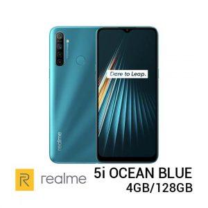 Jual Realme 5i Ocean Blue 4GB128GB Harga Murah Terbaik dan Spesifikasi
