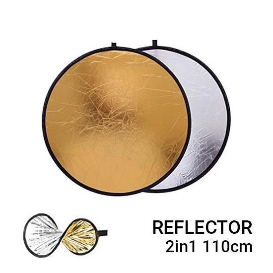 Jual Reflector 2in1 110cm Harga Murah Terbaik dan Spesifikasi