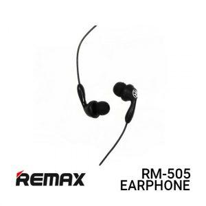 Jual Remax Earphone Candy RM-505 - Black Harga Murah dan Spesifikasi