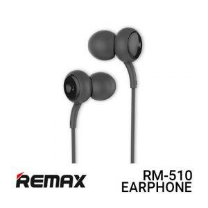 Jual Remax Earphone Concave Convex RM-510 - Black Harga Murah