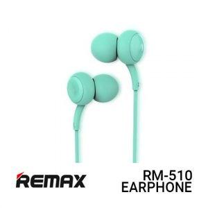 Jual Remax Earphone Concave Convex RM-510 - Blue Harga Murah