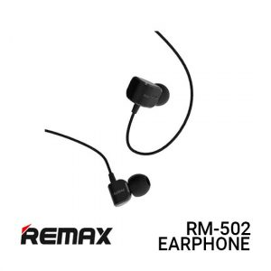 Jual Remax Earphone Crazy Robot RM-502 - Black Harga Murah