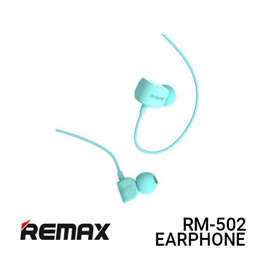 Jual Remax Earphone Crazy Robot RM-502 - Blue Harga Murah