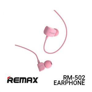 Jual Remax Earphone Crazy Robot RM-502 - Pink Harga Murah