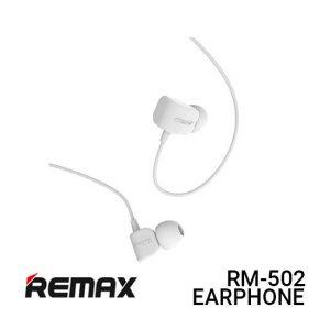 Jual Remax Earphone Crazy Robot RM-502 - White Harga Murah