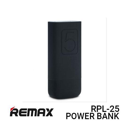 Jual Remax Power Bank RPL-25 Flinc - Black Harga Murah dan Spesifikasi
