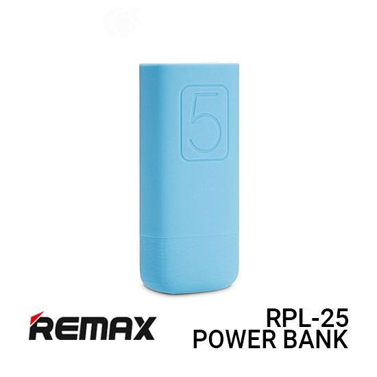 Jual Remax Power Bank RPL-25 Flinc - Blue Harga Murah dan Spesifikasi