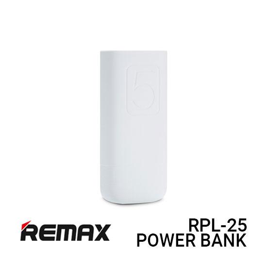 Jual Remax Power Bank RPL-25 Flinc - White Harga Murah dan Spesifikasi