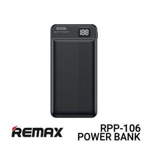 Jual Remax Power Bank RPP-106 Fizi - Black Harga Murah dan Spesifikasi