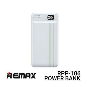 Jual Remax Power Bank RPP-106 Fizi - White Harga Murah dan Spesifikasi