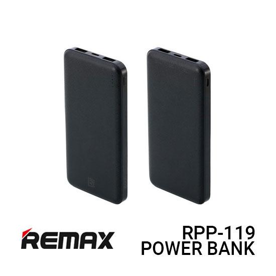 Jual Remax Power Bank RPP-119 R Jane - Black Harga Murah dan Spesifikasi