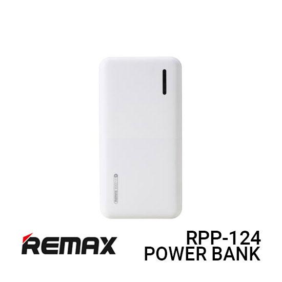 Jual Remax Power Bank RPP-124 Linon 2 - White Harga Murah dan Spesifikasi