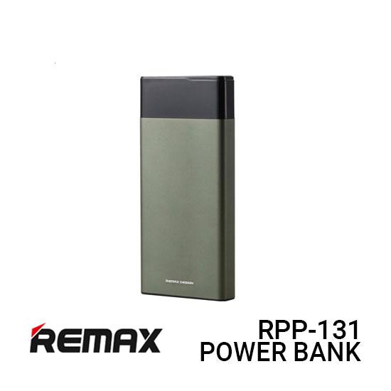 Jual Remax Power Bank RPP-131 Renor - Green Harga Murah dan Spesifikasi