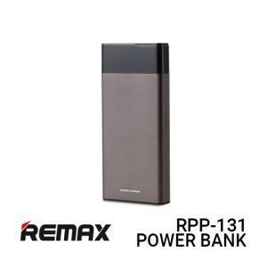 Jual Remax Power Bank RPP-131 Renor - Grey Harga Murah dan Spesifikasi