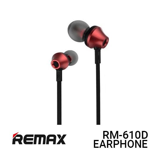Jual Remax RM-610D Earphone Functional - Red Harga Murah