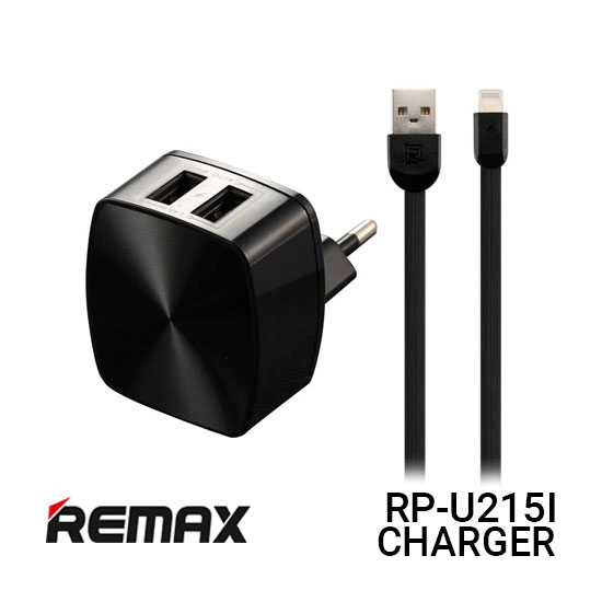 Jual Remax RP-U215I Dual USB Charger And Cable Iphone - Harga Murah