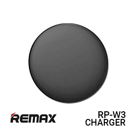 Jual Remax RP-W3 Charger Wireless Flaying Saucer - Black Harga Murah