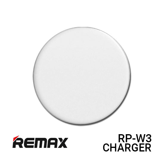 Jual Remax RP-W3 Charger Wireless Flaying Saucer - White Harga Murah