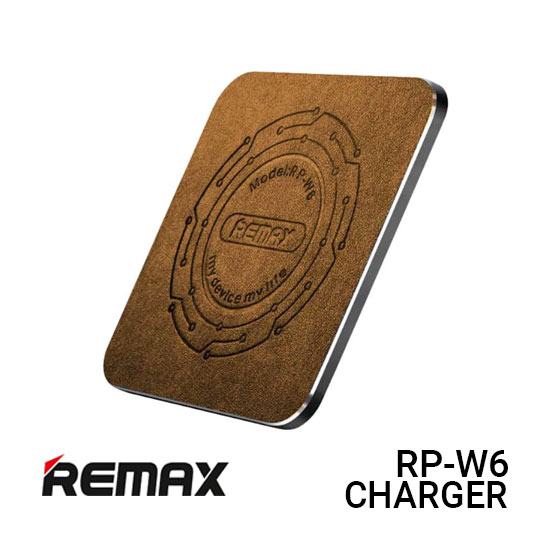 Jual Remax RP-W6 Charger Wireless Square - Gold Harga Murah