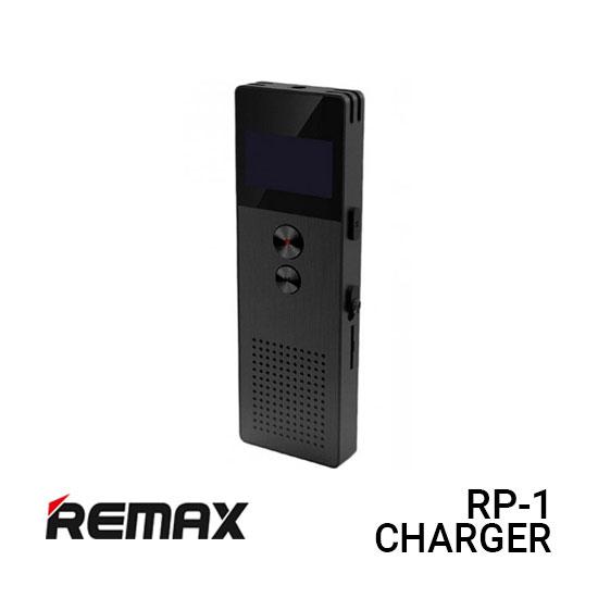 Jual Remax Voice Recorder RP1 Digital Stereo - Black Harga Murah