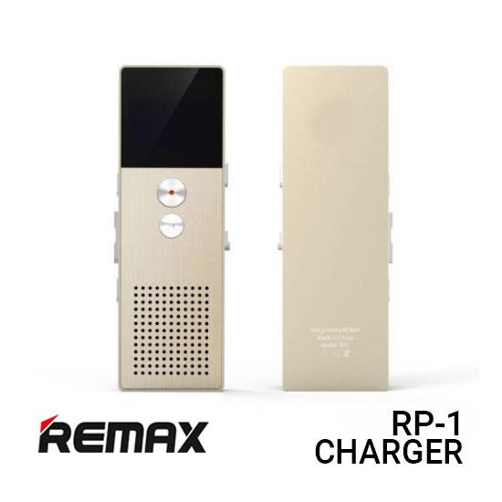 Jual Remax Voice Recorder RP1 Digital Stereo - Gold Harga Murah