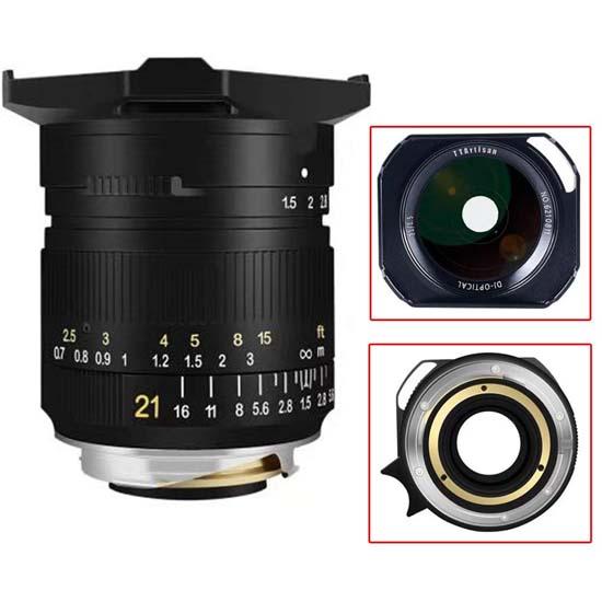 Jual TTArtisans 21mm f1.5 for Leica M-Mount Black Harga Terbaik dan Spesifikasi
