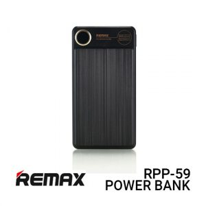 Remax RPP-59 Power Bank 20000MAH Kooker - Black Harga Murah
