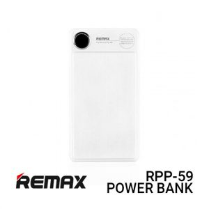 Remax RPP-59 Power Bank 20000MAH Kooker - White Harga Murah