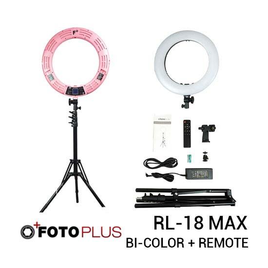 Fotoplus Ring Light RL-18 Max LED Pink new thumb