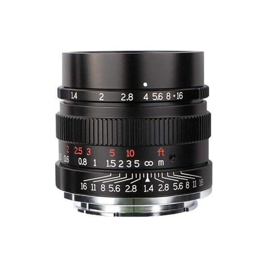Jual 7Artisans 35mm f1.4 for Nikon Z-Mount Black Harga Terbaik dan Spesifikasi