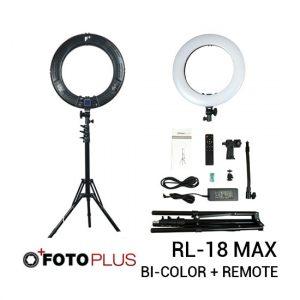 Jual Fotoplus Ring Light RL-18 Max LED Black Harga Murah Terbaik dan Spesifikasi