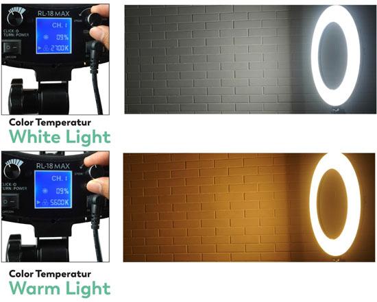Jual Fotoplus Ring Light RL-18 Max LED Harga Murah Terbaik dan Spesifikasi