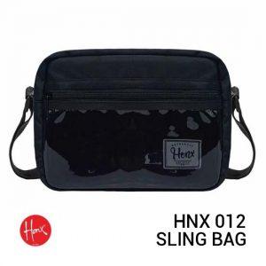 Jual HONX HNX 012 Sling Bag Black Harga Murah Terbaik dan Spesifikasi