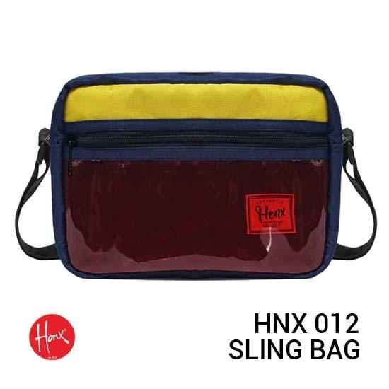 Jual HONX HNX 012 Sling Bag Yellow Navy Harga Murah Terbaik dan Spesifikasi