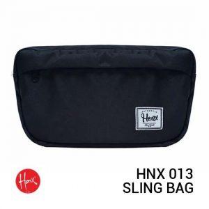 Jual HONX HNX 013 Sling Bag Black Harga Murah Terbaik dan Spesifikasi