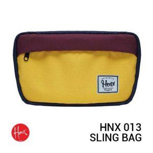 Jual HONX HNX 013 Sling Bag Yellow Navy Harga Murah Terbaik dan Spesifikasi