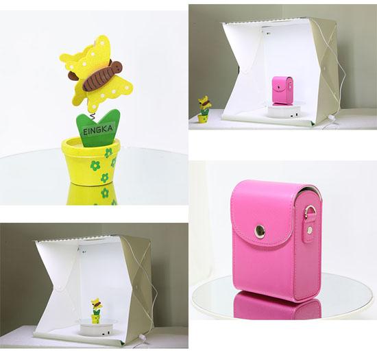 Jual Mini Photo Studio dengan LED - Size Large Harga Murah Terbaik dan Spesifikasi