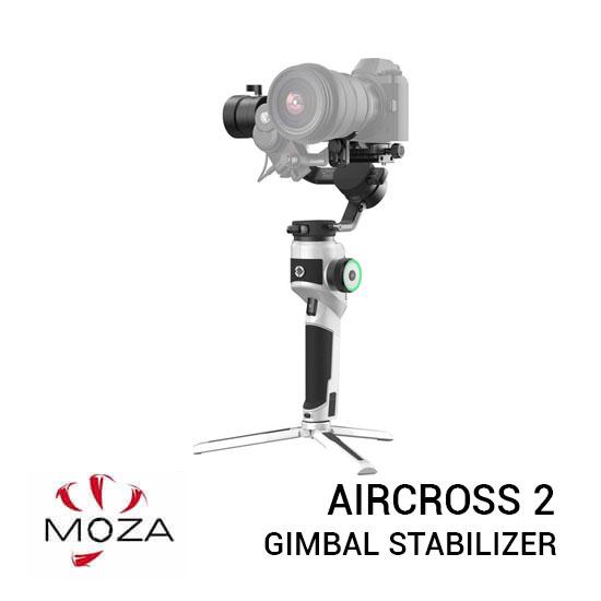 Jual Moza AirCross 2 Gimbal Stabilizer Basic Kit White Edition Harga Terbaik dan Spesifikasi