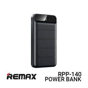 Jual Remax PowerBank RPP-140 Leader - Black Harga Murah dan Spesifikasi