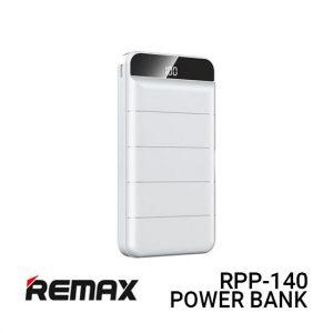 Jual Remax PowerBank RPP-140 Leader - White Harga Murah dan Spesifikasi