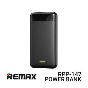 Jual Remax PowerBank RPP-147 Jany - Black Harga Murah dan Spesifikasi