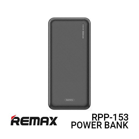 Jual Remax PowerBank RPP-153 Janshon - Black Harga White dan Spesifikasi.