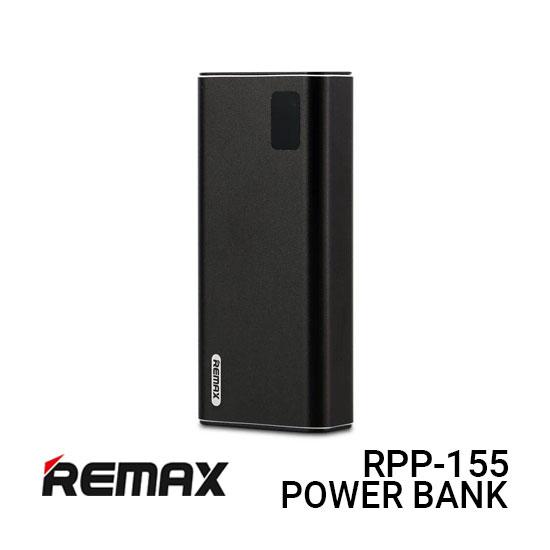 Jual Remax PowerBank RPP-155 Mini Pro - Black Harga Murah dan Spesifikasi