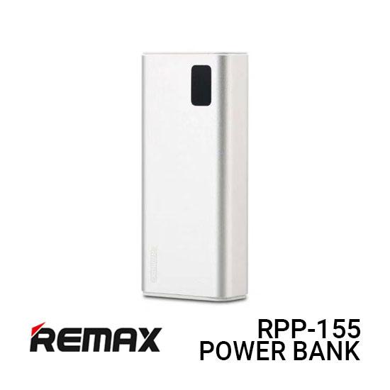 Jual Remax PowerBank RPP-155 Mini Pro - Silver Harga Murah dan Spesifikasi