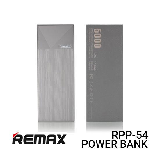 Jual Remax PowerBank RPP-54 Thoway - Grey Harga Murah dan Spesifikasi