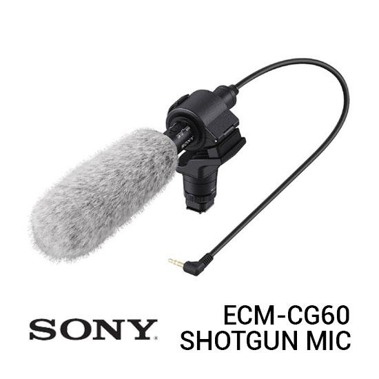 Jual Sony ECM-CG60 Shotgun Microphone Harga Terbaik dan Spesifikasi