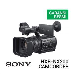 Jual Sony HXR-NX200 NXCAM 4K Professional Camcorder Harga Terbaik dan Spesifikasi