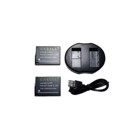 Jual Casell Powerpack for Lumix DMW-BLC12 Harga Murah dan Spesifikasi