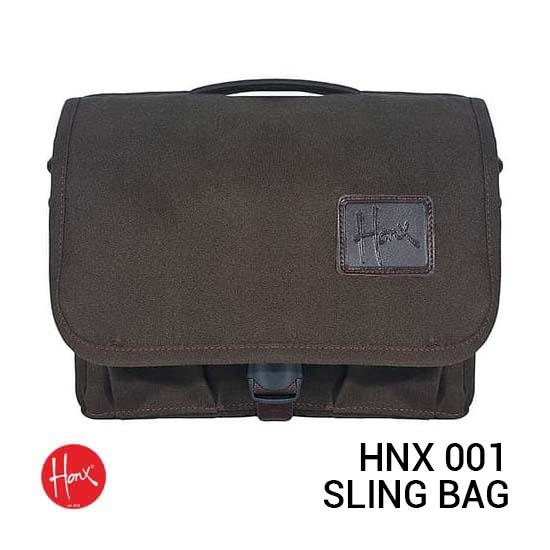 Jual HONX HNX 001 Sling Bag Brown Harga Murah dan Spesifikasi
