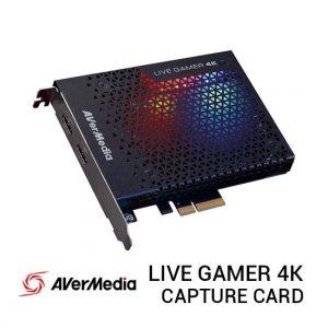 Jual AVerMedia Live Gamer 4K Capture Card Harga Terbaik dan Spesifikasi